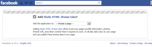 How To Create A Facebook Landing Page Step 1