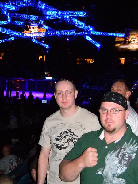 Matt and I at the fights